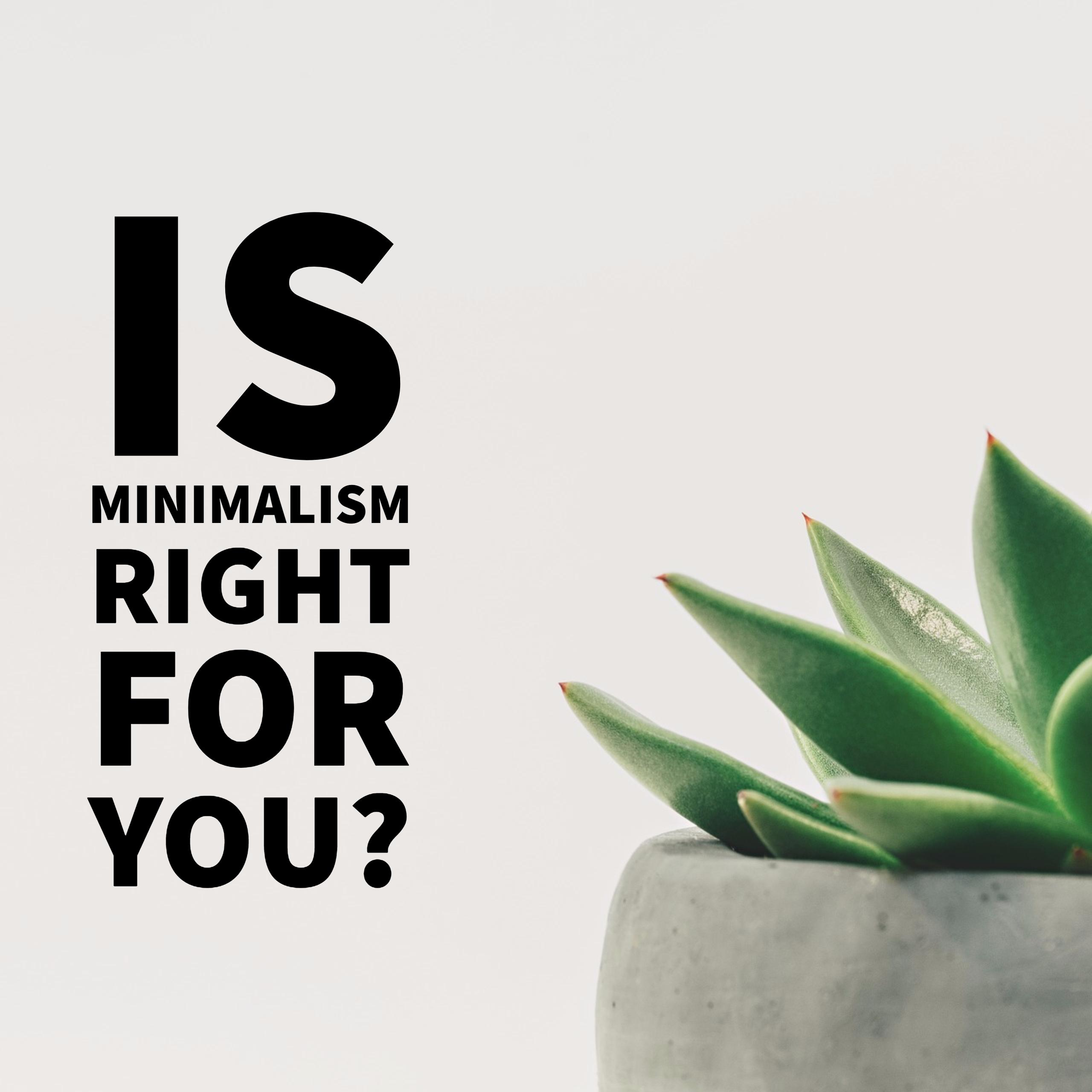 is minimalism for you minimalismissimple.com