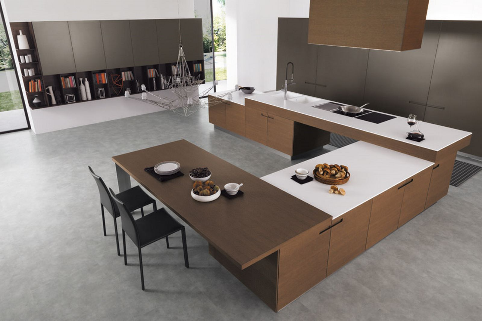 Minimalist kitchen space minimalism is simple easy Home design inspiration