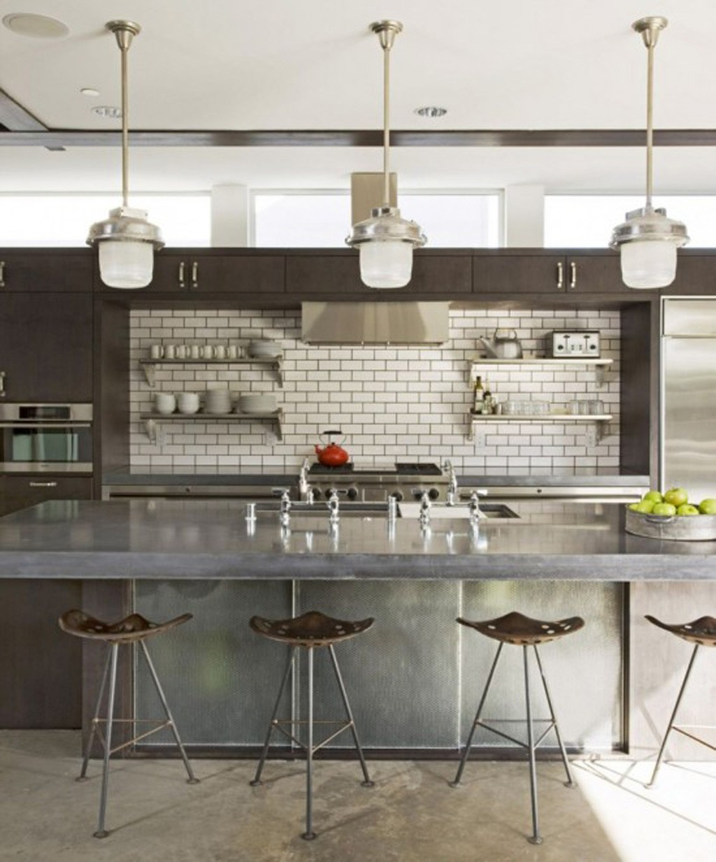 Industrial Looking Kitchen Minimalist Decor Minimalism In The Home Kitchens Minimalism