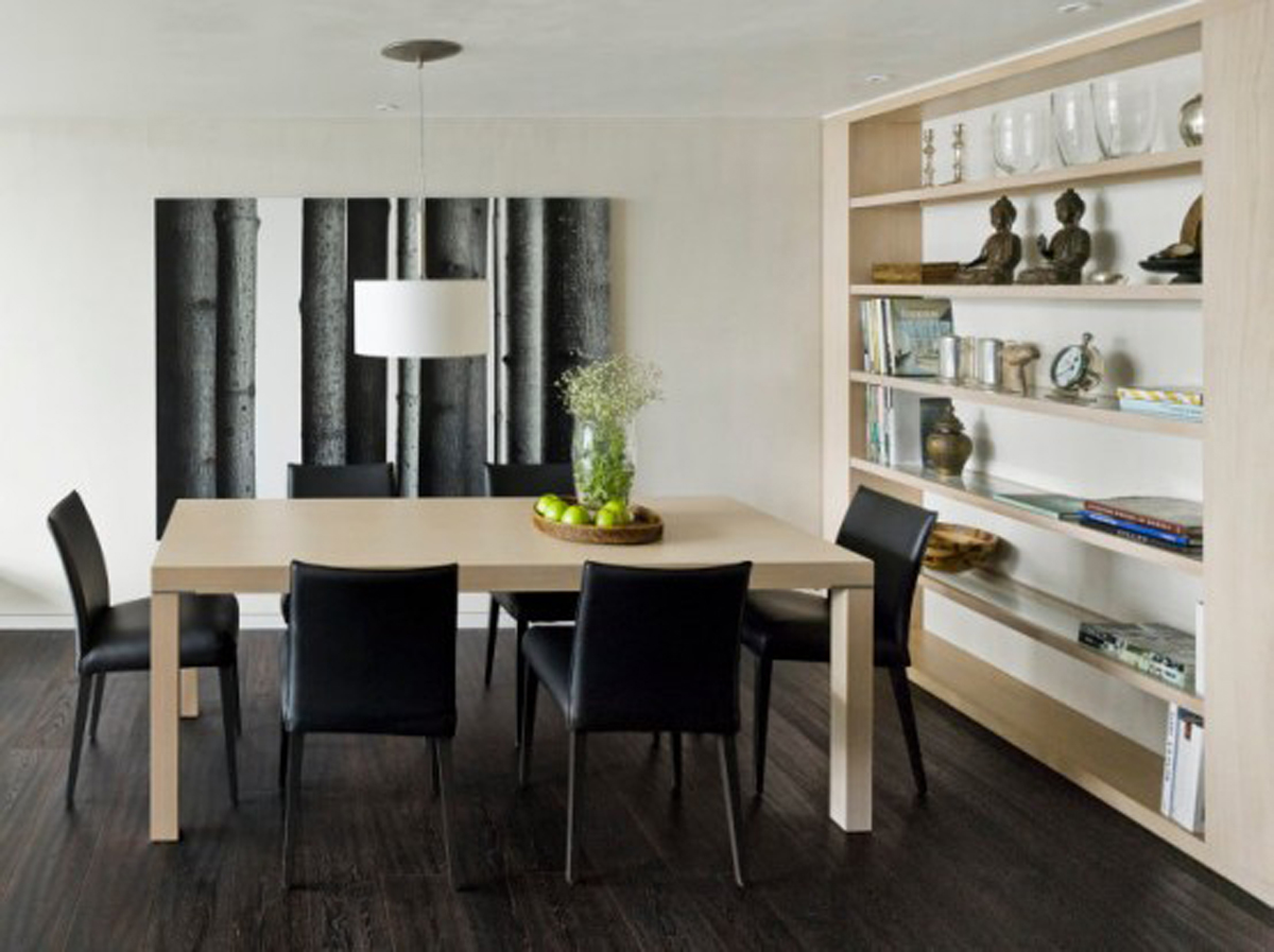 minimalist decor: minimalism in the home (dining rooms