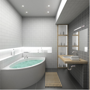 Minimalist Living – The Bathroom