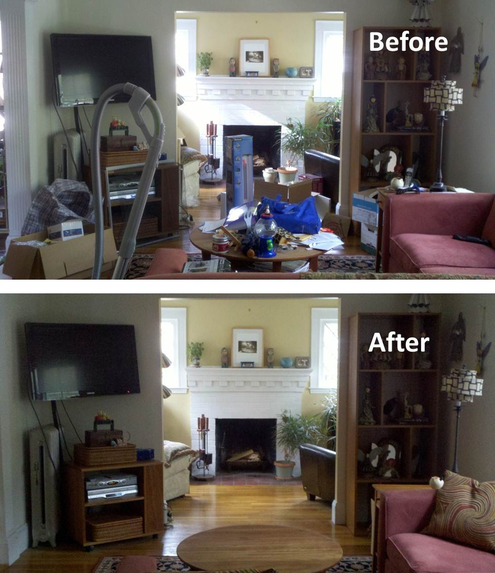 Minimalist Decor minimalist decor: minimalism in the home (before & after