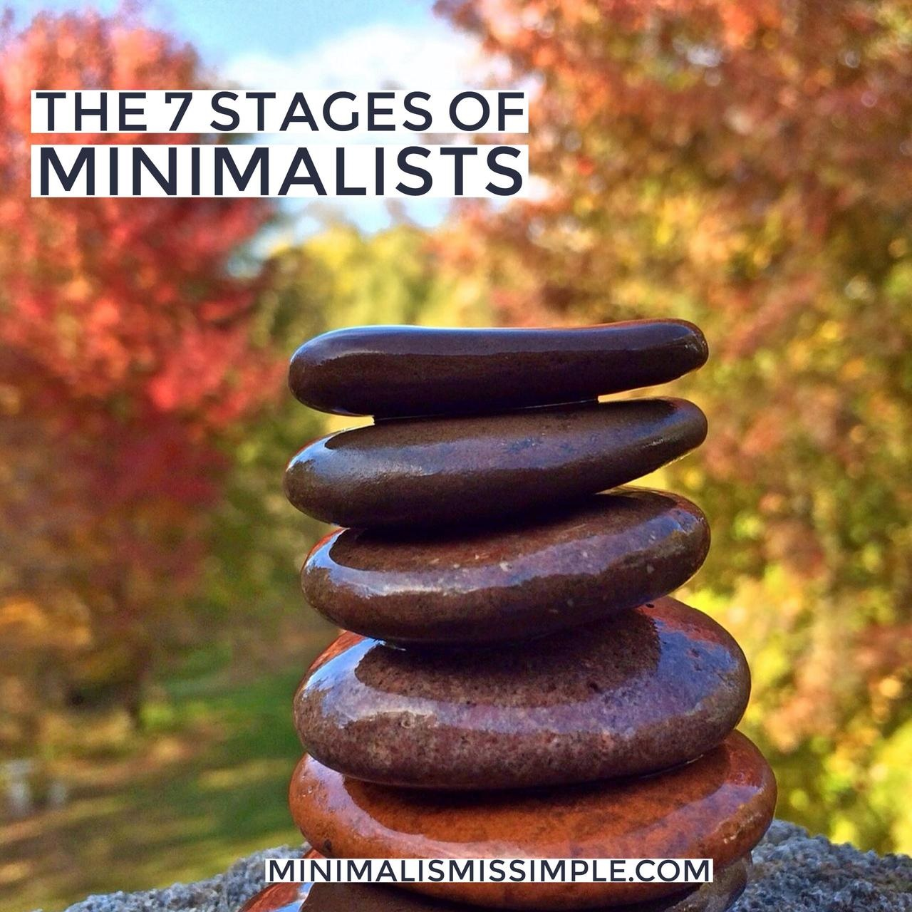 7 levels of minimalists minimalismissimple.com