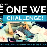 The One Week Minimalist Challenge