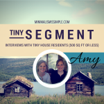 Tiny Segment: Interview with Amy Randolph – Building A 160 Sq Ft Tiny House on Wheels