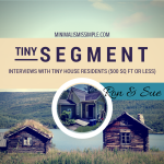 Tiny Segment: Interview with Ron & Sue – Life In A Tiny Shiny Mansion
