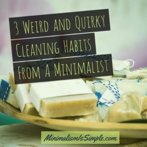 3 weird cleaning tips