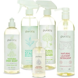 PLEASE choose natural cleaning supplies! Our environment depends on it.