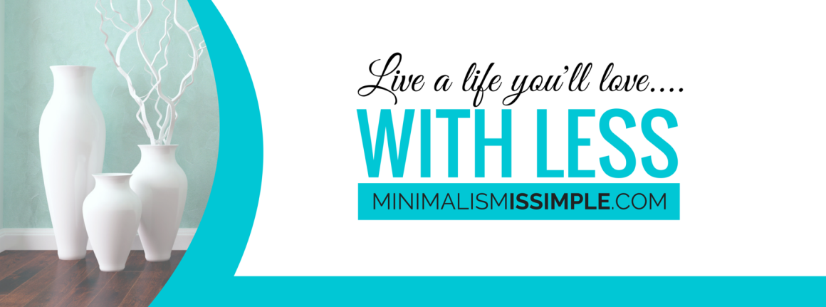 Minimalism is Simple Easy Minimalist Lifestyle Tips  Logo