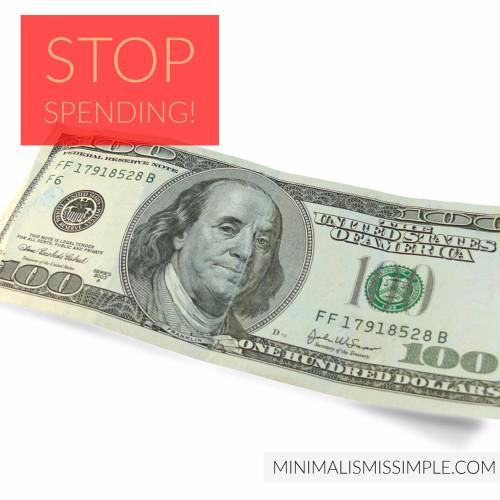 Stop Spending MinimalismIsSimple.com