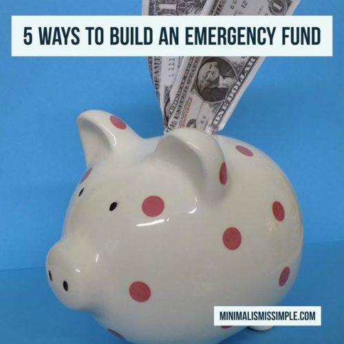 5waystobuild emergency fund